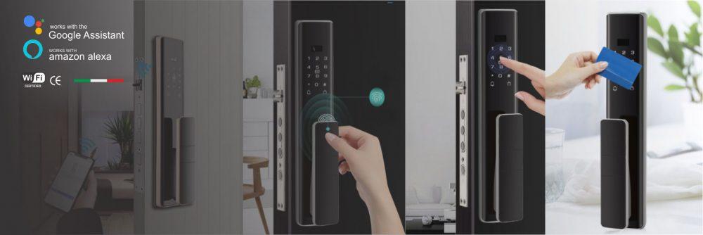 قفل درب دیجیتال خانه هوشمند اسمارت مایر