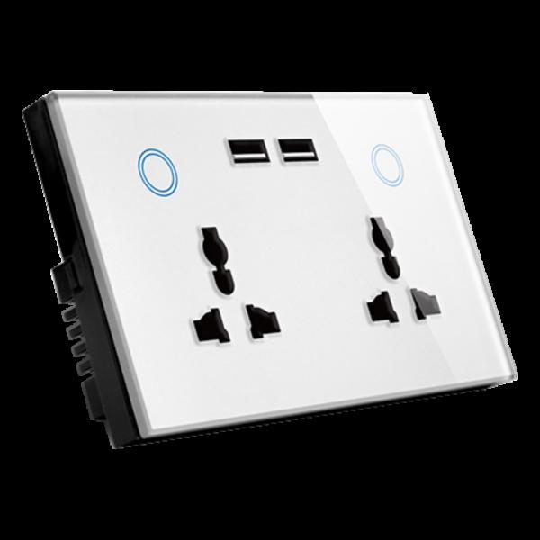 پریز های هوشمند ترکیبی بهمراه شارژر USB