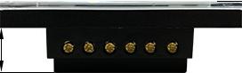 نمای روبروی کلید لمسی 8 پل