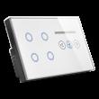 کلید چهار پل ترکیبی با دیمر/ فن خانه هوشمند